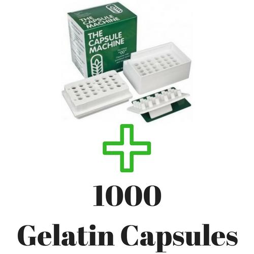 1000 Gelatin Capsules
